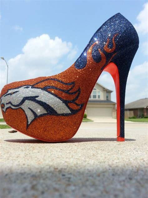 denver broncos high heels discover and save creative ideas