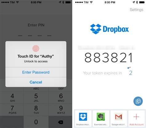 authy  refreshed design touch id support  ios  macstories
