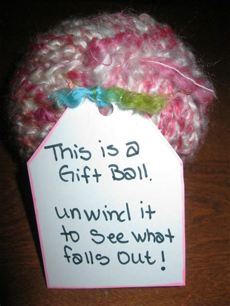 Cool Ways To Wrap A Gift Card - tip garden surprise filled gift balls