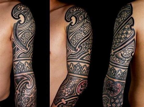 quarter sleeve aztec tattoo 1000 ideas about tribal sleeve tattoos on pinterest