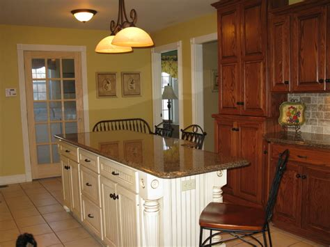 kitchen island different color than cabinets kitchen