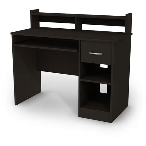 The Popular Ikea Wooden Desk Furniture Design Ideas Corner Black Desk