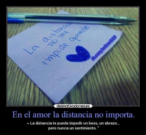imagenes de amor la distancia no importa en el amor la distancia no importa desmotivaciones