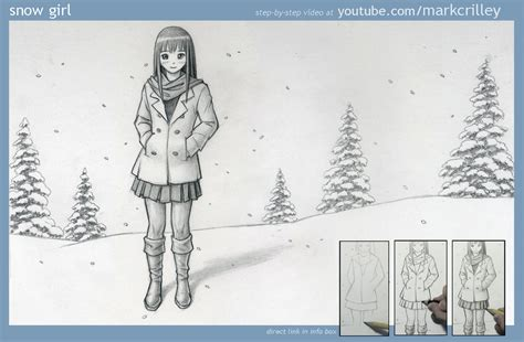 how to draw by markcrilley snow by markcrilley on deviantart