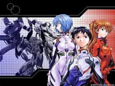 neon genesis evangelion anime lista animes de guerra y mecha