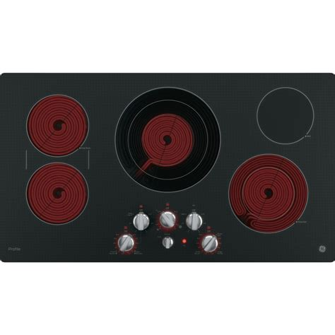 Ge Profile Cooktop Knobs Replacements pp7036ejes ge profile series 36 quot built in knob
