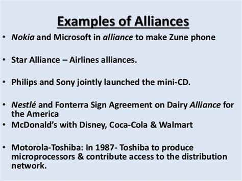 Starbucks Collaboration by Strategic Alliance
