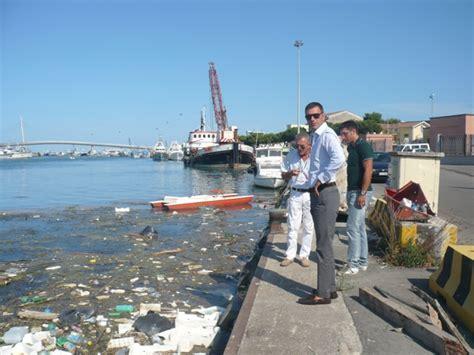 capitaneria di porto di pescara alghe nell area portuale di pescara il presidente della