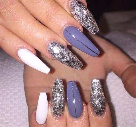 nail color designs 45 acrylic coffin nail color designs for fall and winter