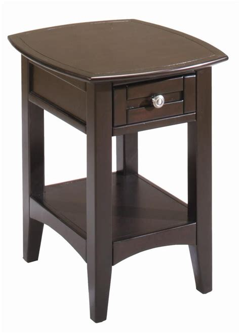 Gardiners Furniture Towson kensington chairside table w drawer by aspenhome