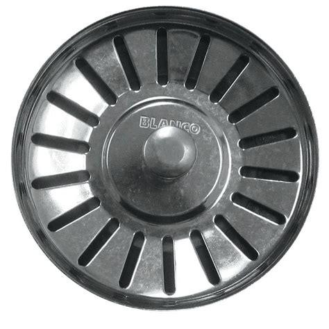 garbage disposal sink strainer blanco decorative basket strainer in biscuit 441092 the