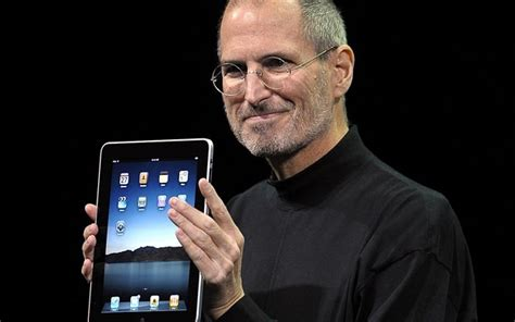 biography of steve jobs in brief apple s ipad turns 5 a brief history telegraph