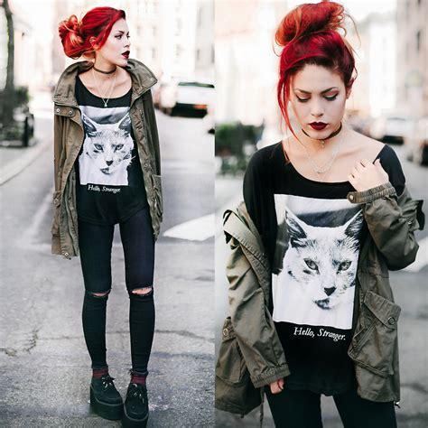 le happy lua p le happy the cat tee hello stranger lookbook
