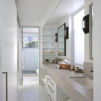 galley bathroom ideas galley style bathroom with glass ceiling cottage bathroom