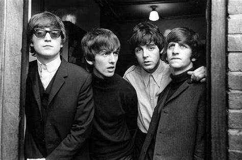 The Beatles Black 1 66 wallpaper black and white the beatles image