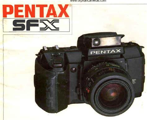 Pentax Sfx Instruction Manual User Manual Free Pdf