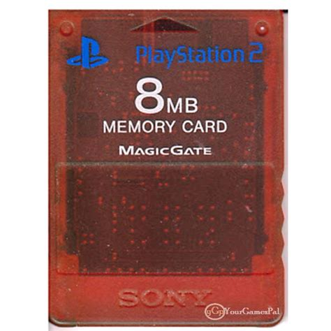 Memory Card Ps2 8mb By Winzgame ps2 memory card by sony for playstation 2 8 mb clear