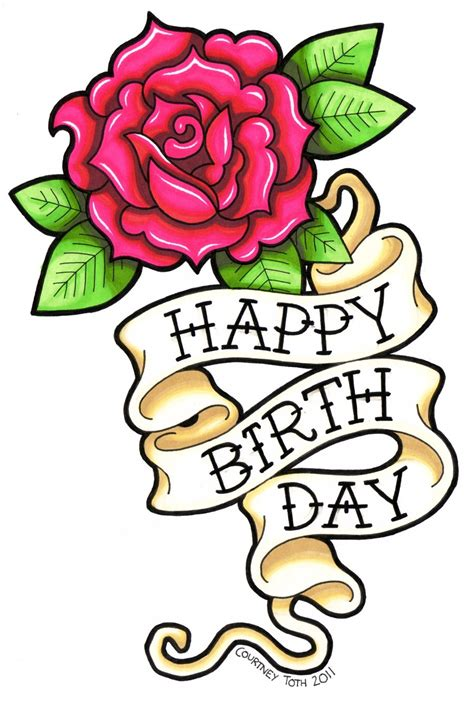 Bday Drawing by Happy Birthday With Drawing Clipart Best