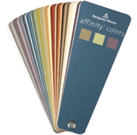 affinity colors fan deck benjamin moore affinity paint