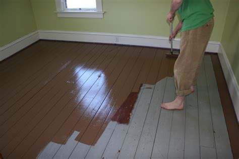 Painted Floors by Painted Wood Floors Will Liven Up Your Home How To Diy Times Guide To Home Building