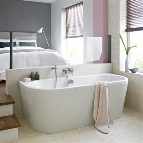 1650 Shower Bath trend back to wall bath bathstore
