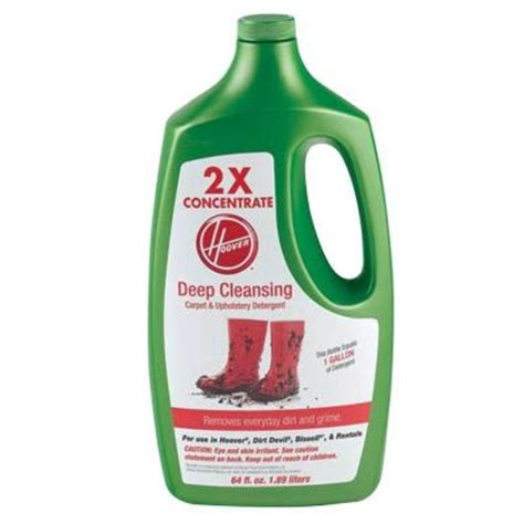 upholstery cleaner home depot hoover 64 oz deep cleaning carpet and upholstery detergent