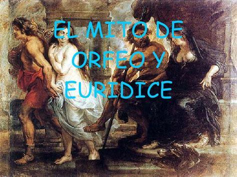 el mito de corts 8490551480 el mito de orfeo y euridice