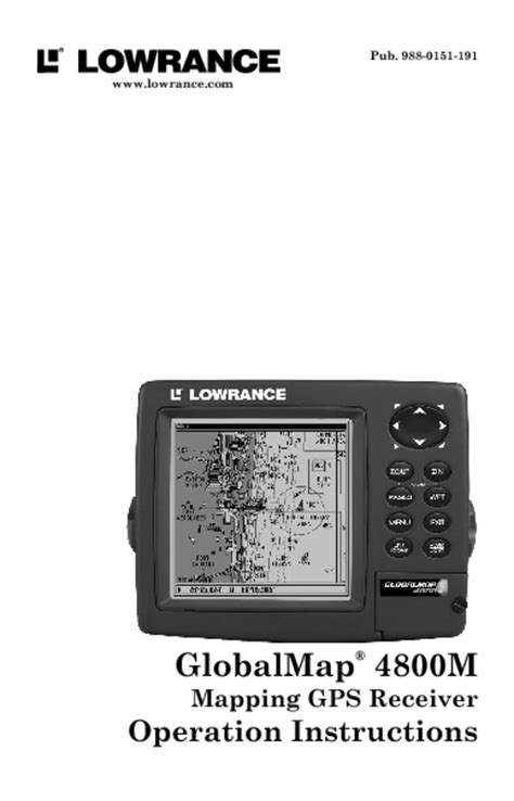 navionics boating user manual gps receiver users guides quot gps receiver quot page 4