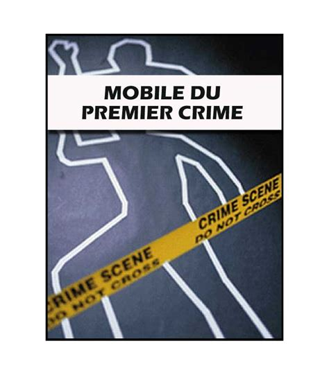 mp4 mobile mobile du premier crime mp4 ravbenchetrit