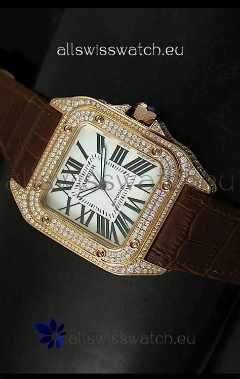 Jual Gelang Cartier D Mirror Quality 1 Cartier Santos 100 1 1 Mirror Replica Gold Diamonds