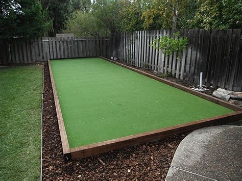 Backyard Bocce by Bocce Court Constuction In Sarasota Florida