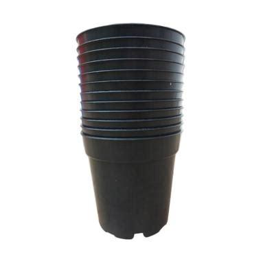 Pot Plastik Tanaman Hitam Ukuran 15 Cm jual grace plastik pot bunga dan tanaman hitam 15 cm 12
