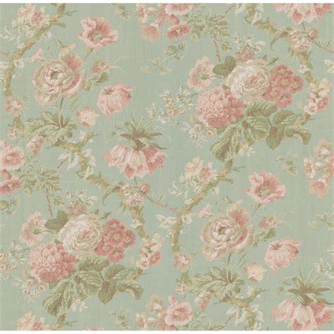 vintage green wallpaper uk la fleur vintage floral wallpaper