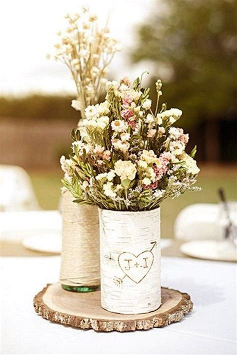 backyard wedding centerpieces 52 cute and simple backyard wedding centerpieces happywedd com