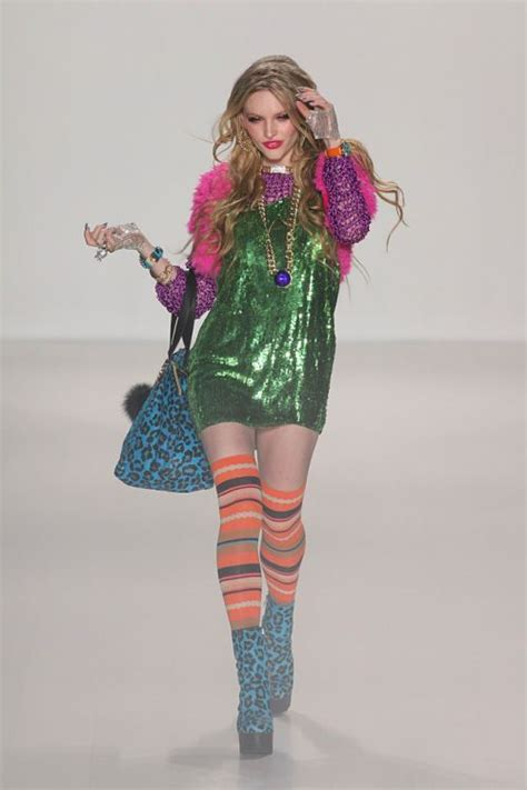 New York Fashion Week Betsey Johnson by Betsey Johnson Dresses Winter Arrivals 2014 2015 At New