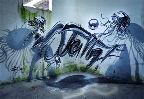 odeith     jaw dropping anamorphic graffiti