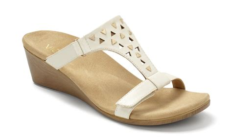 vionic maggie s wedge sandals w orthaheel