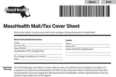 sle masshealth fax cover sheet fax cover sheet free premium templates forms