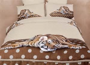 Animal Print Duvet Cover Queen Sleepy Tiger Queen Bedding Animal Print Design Duvet