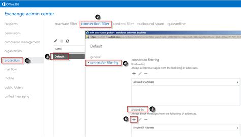 Office 365 Junk Mail Filtering Dealing With Spam Mail In Office 365 Server Side
