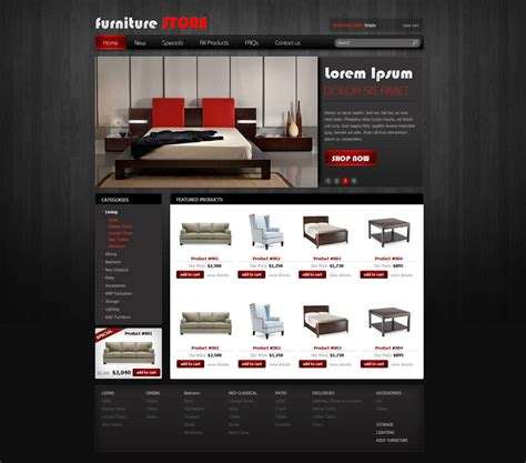 free online store template free ecommerce website