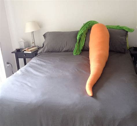 Carrot Pillow by Carrot Pillow Foodiggity