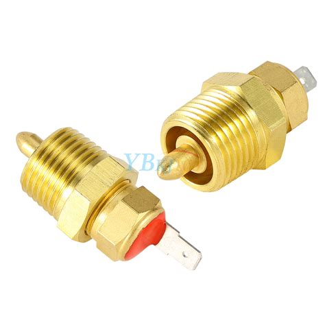 electric fan thermostat temperature switch 185 to 175 degree electric engine cooling fan thermostat