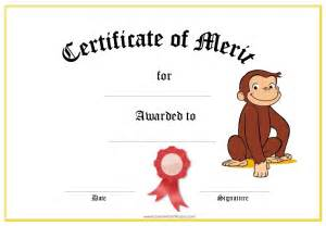 Kid Certificate Templates Free Printable by 10 Best Images Of Printable Certificates Of Merit Angry