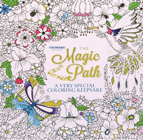 The Magic Path Coloring Book midwest sales 187 colorama presents the magic path