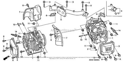 honda gxv530 parts diagram honda gx630 wiring diagram