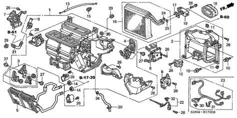 Diagram For Honda Polit 2003 Heater Unit Honda Oem Parts
