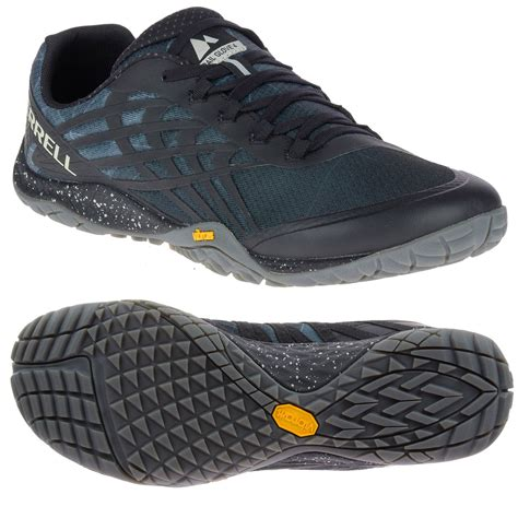 running shoes merrell merrell trail glove 4 mens running shoes sweatband