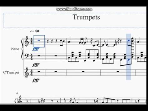 piano tutorial wiggle trumpets jason derulo piano sheet music free trumpets