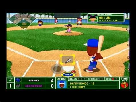backyard baseball backyard baseball 2001 for the pc
